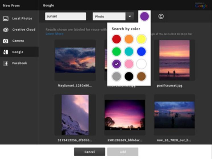 Adobe Photoshop Touch para iPad