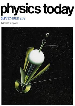 Portada de Physics Today de Septiembre de 1974