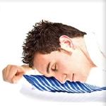 Pillow tie: La corbata almohada