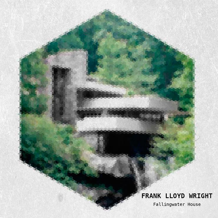 Pixela Yannick Frank lloyd Wright