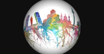 Map to Globe | Convierte ciudades en planetas a partir de su skyline