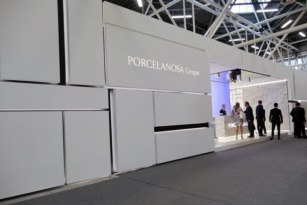 Novedades de PORCELANOSA presentadas en Cersaie 2018