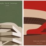 Posters de arquitectura por André Chiote