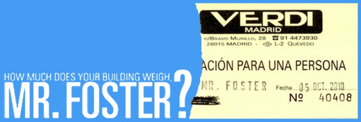 """Preestreno documental """"How much does your building weight Mr Foster?"""" en Madrid"""