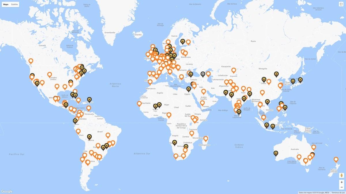 Premios Mundiales del Hábitat Países