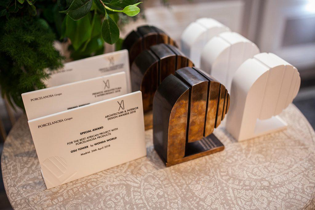 Premios Porcelanosa trofeo