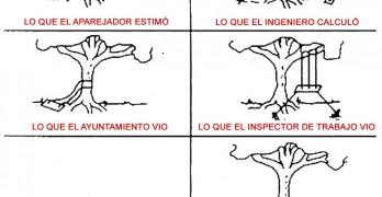 Proceso de construcción de un columpio