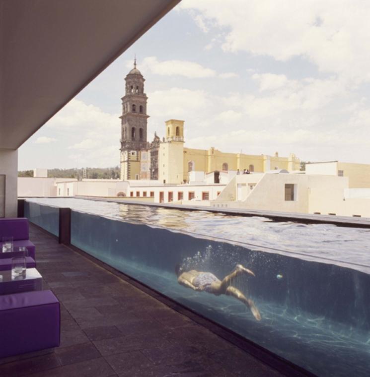 Hotel La Purificadora de Serrano Monjaraz arquitectos