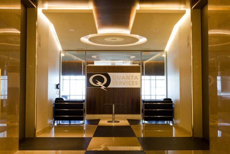 Oficinas corporativas quanta services por art arquitectos for Arquitectura de oficinas