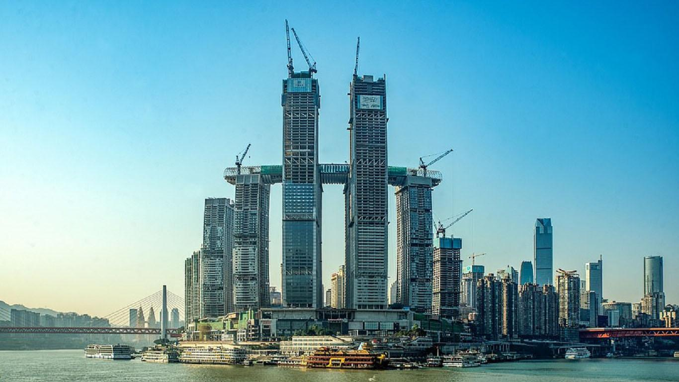 rascacielos horizontal china