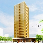 Proyecto de rascacielos de madera por MGA (Michel Green Architecture)