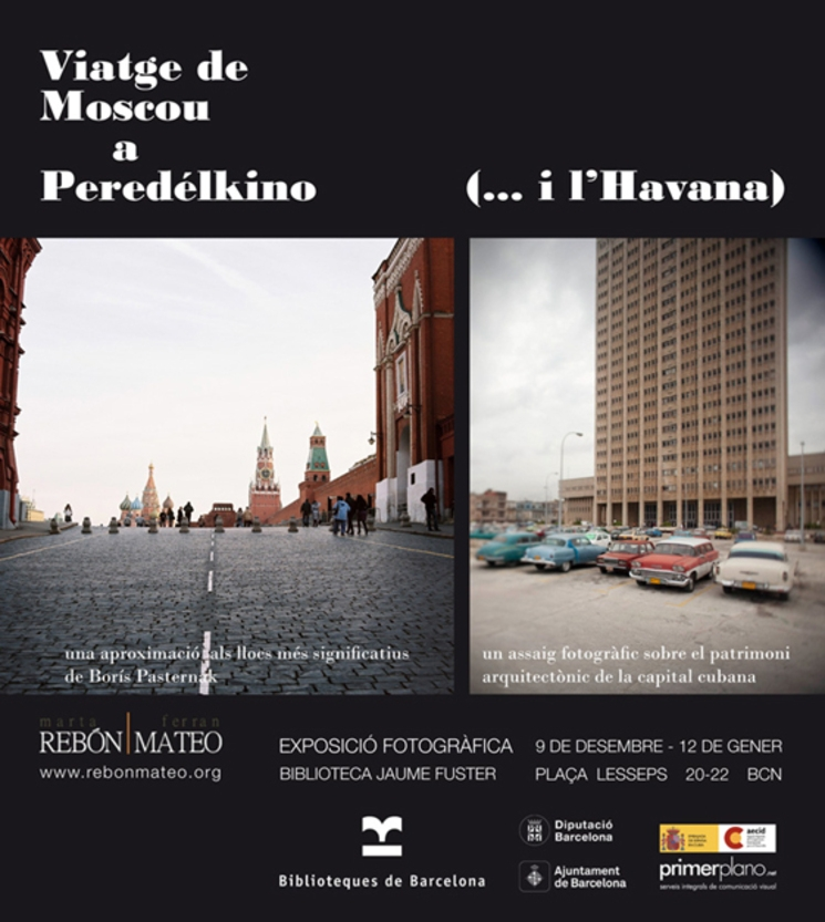 Viaje de Moscú a Peredélkino (... y La Habana)