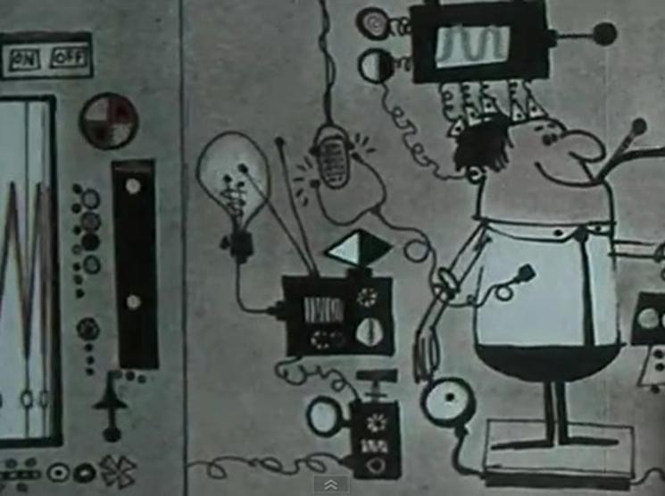 [Video] Charles y Ray Eames explican la revolución del ordenador