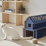 Las cajas de los televisores Samsung se convierten en muebles para la casa
