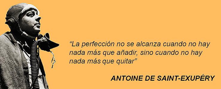 La Perfección No Se Alcanza Cuando No Hay Nada Más Que