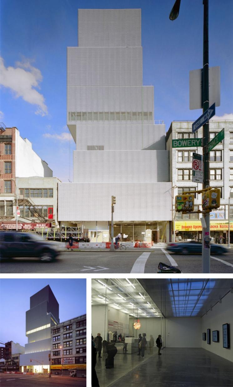 Nuevo Museo de Arte Contemporaneo en New York - SANAA - (2.007)
