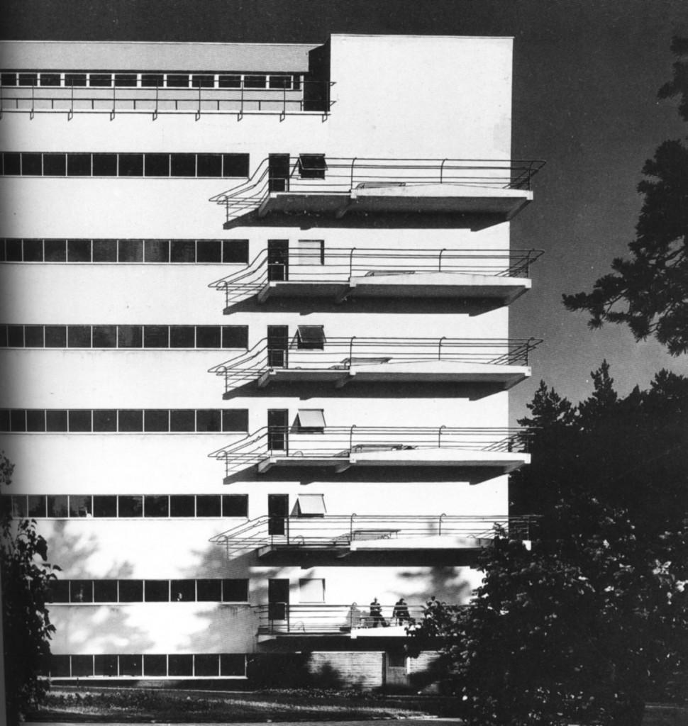 Sanatorio de Paimio, Alvar Aalto 1929