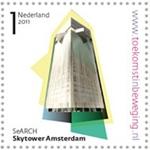 Sellos postales con motivos arquitectónicos y realidad aumentada incluida