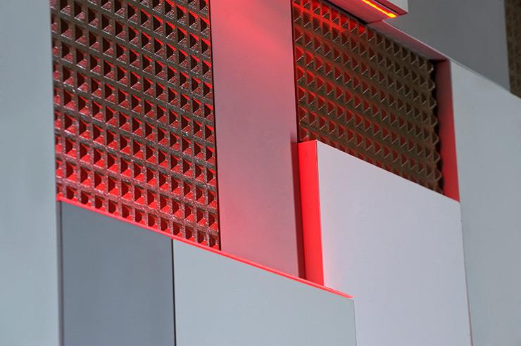 Serastone paneles decorativos para contract y decoraci n for Paneles decorativos de pvc