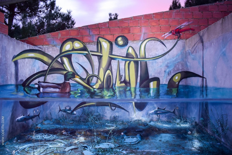 Sergio Odeith: Dirty square pond