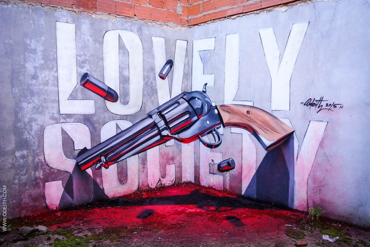 Sergio Odeith: Lovely society revolver