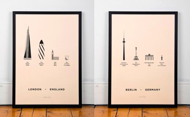 serigrafías de arquitectura