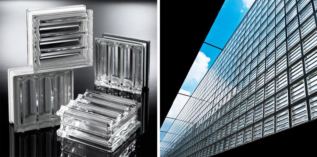 bloques de vidrio Seves Glassblock Doric