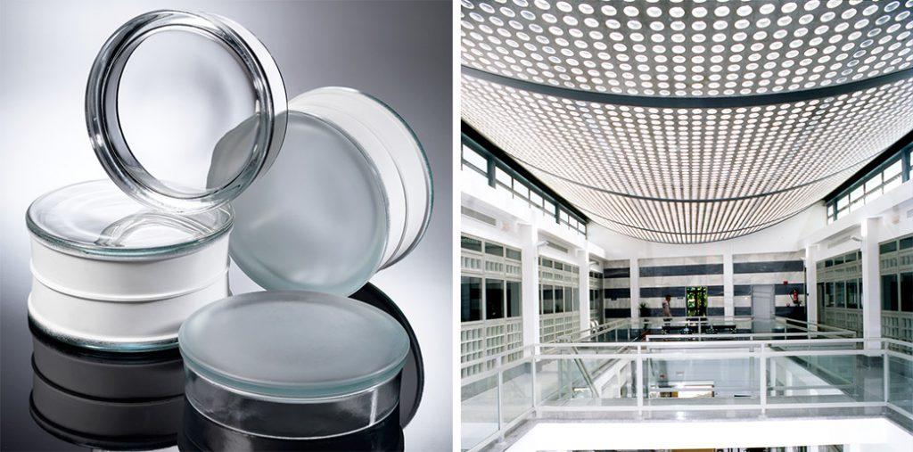 Nuevos bloques de vidrio para aprovechar la luz, el espacio y el color