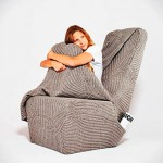 Original silla-manta, no pases frío en casa