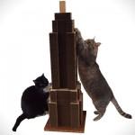 skyscratcher rascador gato edificio