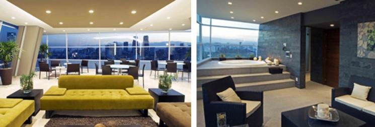 Áreas comunes Skyview - Ar-Co Arquitectura Contemporánea