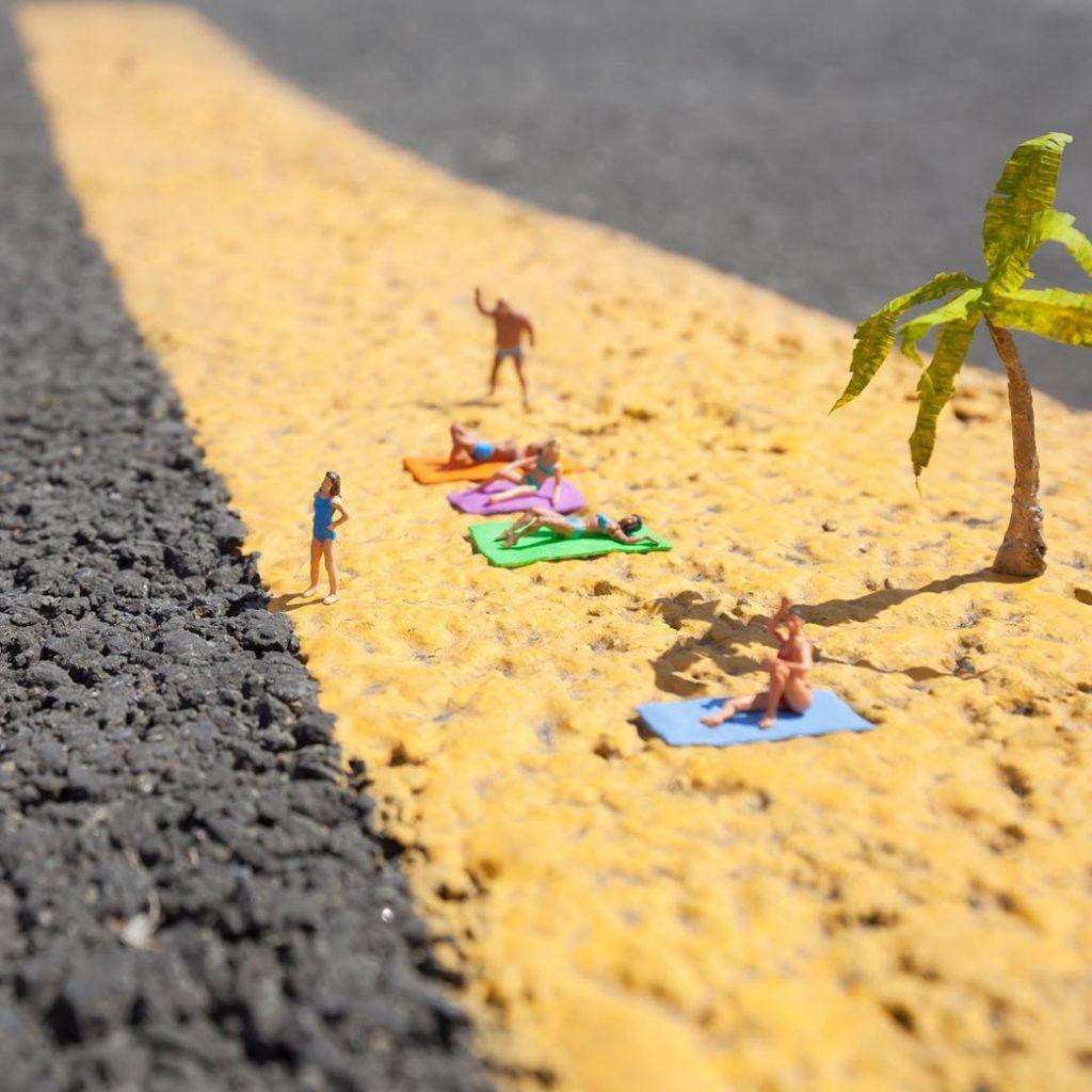 Las miniaturas callejeras de Slinkachu