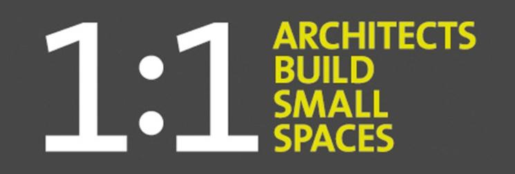 1:1 arquitectos construyen pequeños espacios
