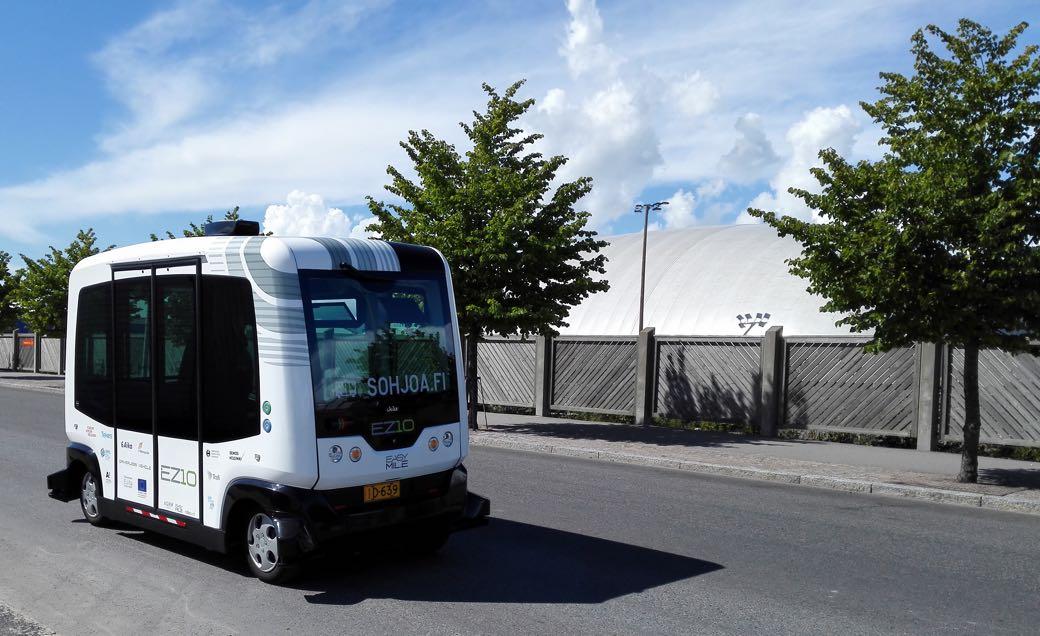 Sohjoa autobus urbano sin conductor