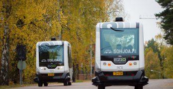 Sohjoa, Finlandia prueba en sus calles autobuses urbanos sin conductor