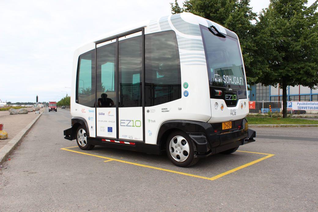 Sohjoa autobuses urbanos sin conductor