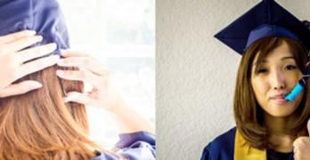 sombrero graduación petaca