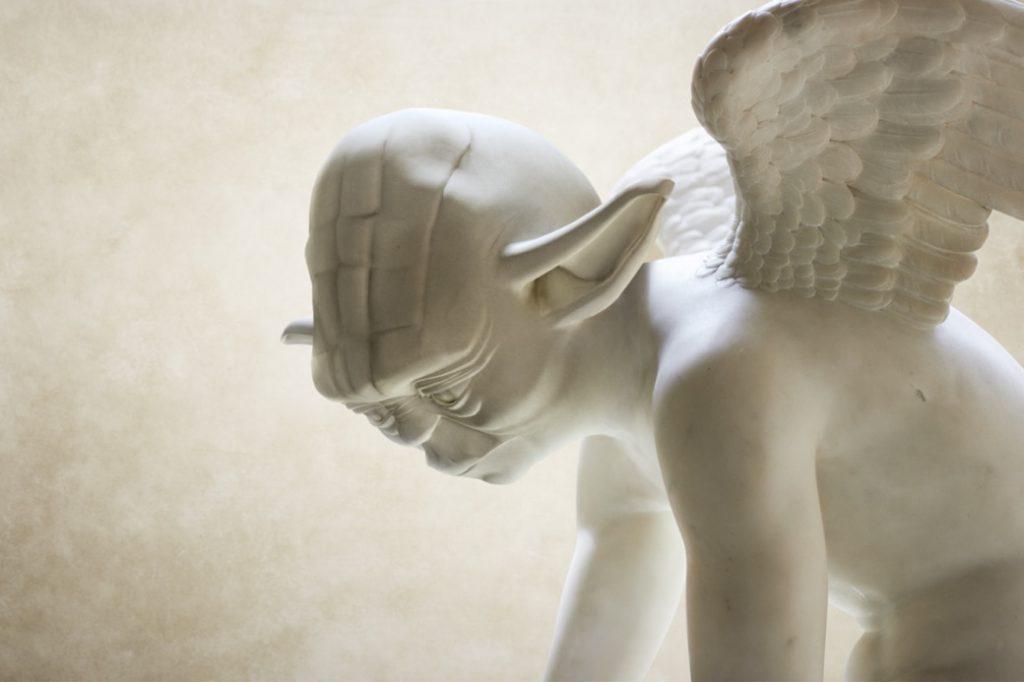 Las esculturas clásicas de Star Wars imaginadas por Travis Durden