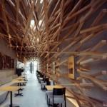 Starbucks diseñado por Kengo Kuma en Japón