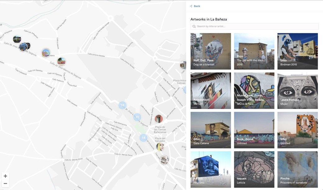 Miles de grafitis online gracias a Street Art Cities y Google Street View