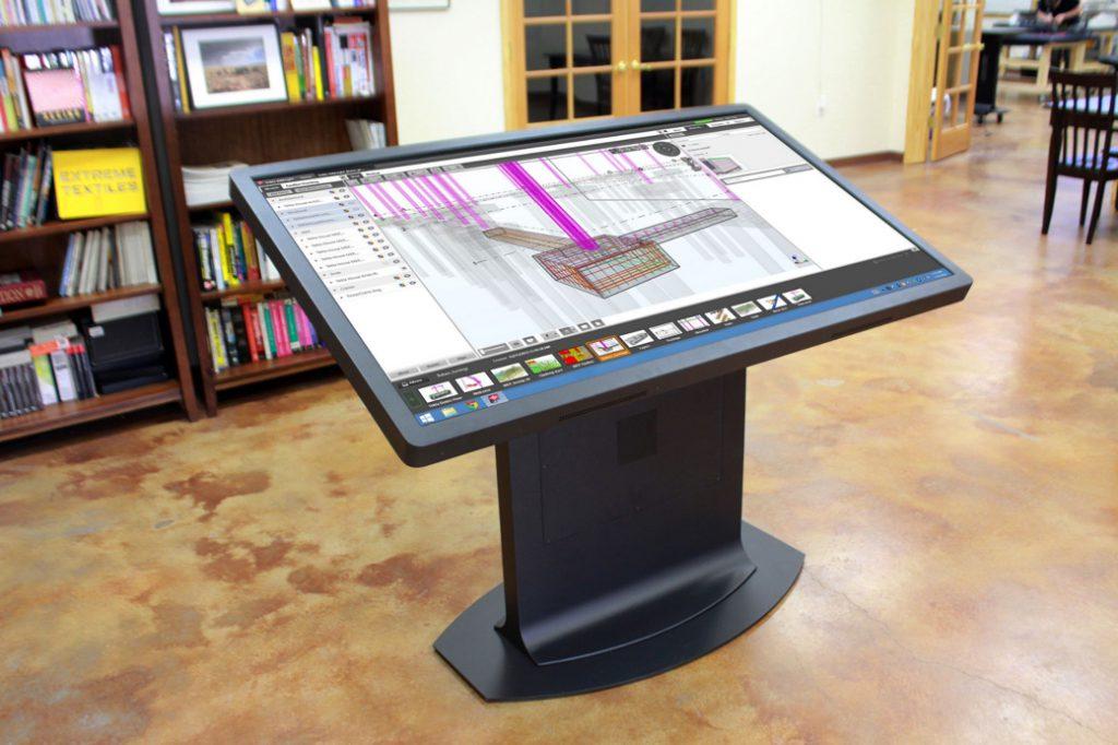 Los tableros multitouch para arquitectos de ideum