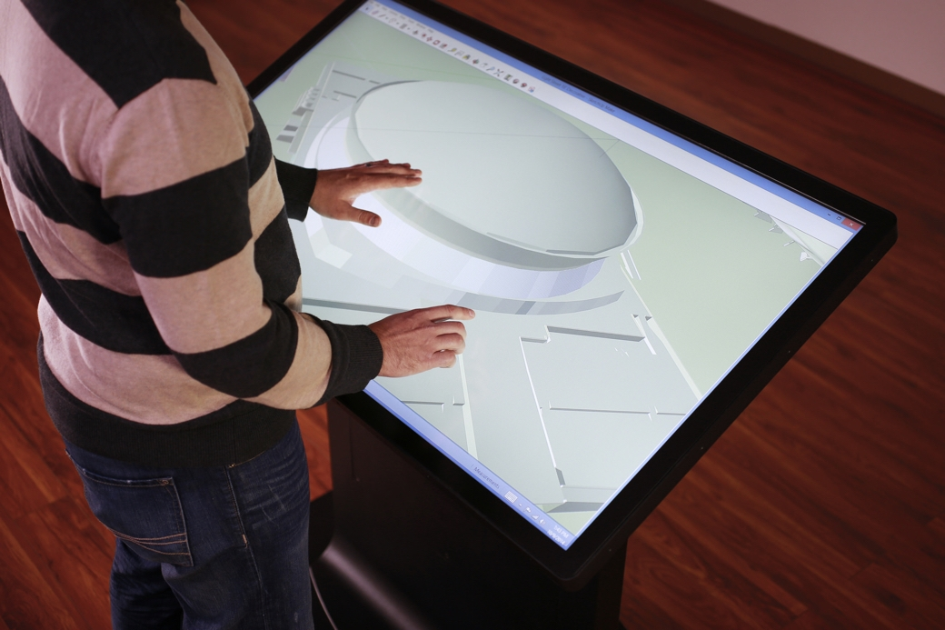 Tableros Multitouch de ideum - SketchUp
