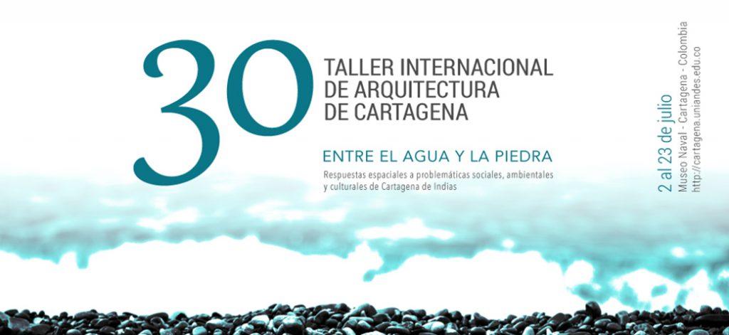 Taller internacional arquitectura cartagena 2016 agua piedra
