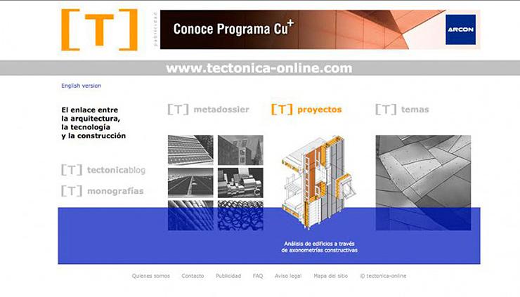 Tectónica da el paso al formato de revista digital y nace tectónica-online