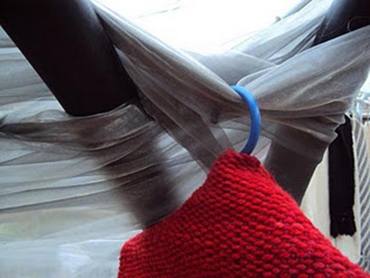 Modulo de exposición para las tejedoras a telar de Quinamávida