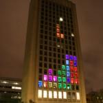 fachada tetris edificio