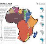 Una web para comparar el tamaño de unos países con otros
