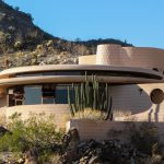 The circular sun house frank lloyd wright