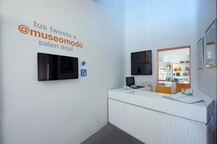 Remodelación de la recepción del Museo - DIN interiorismo