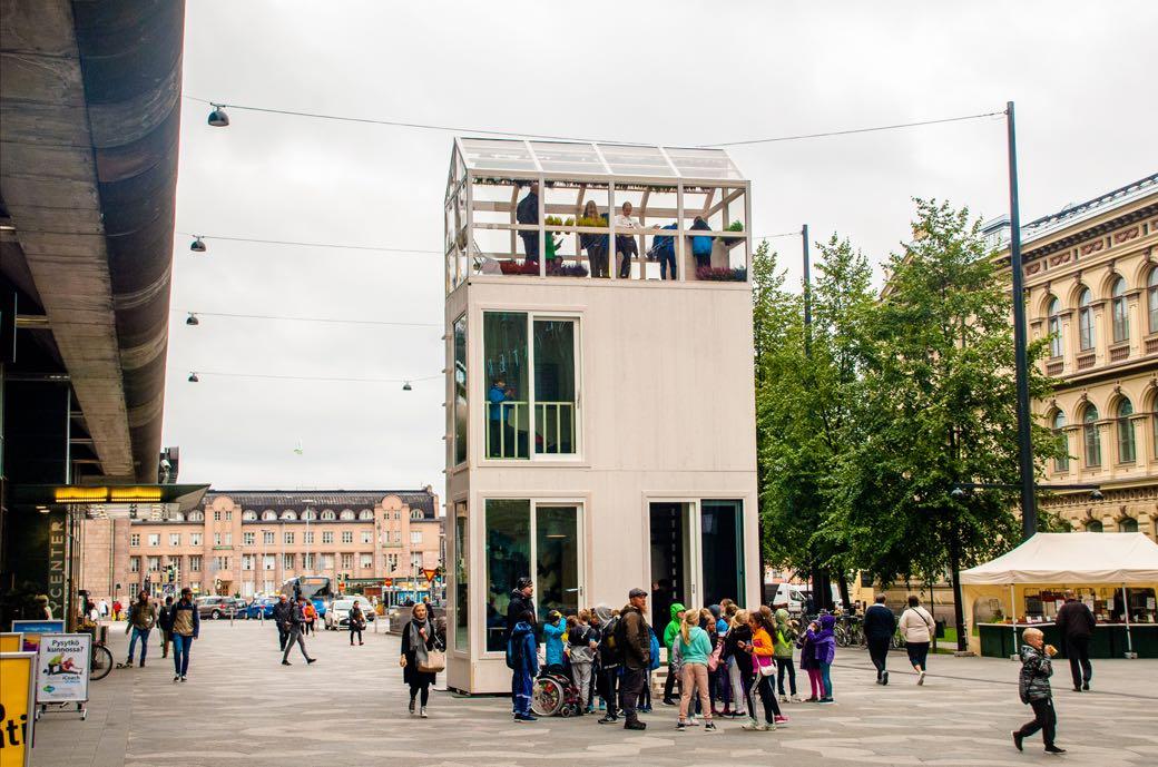 Tikku el microapartamento que ocupa lo que una plaza de for Plaza de aparcamiento